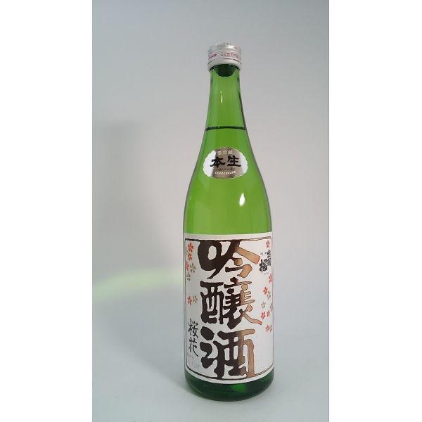 出羽桜 吟醸桜花 本生 1.8L